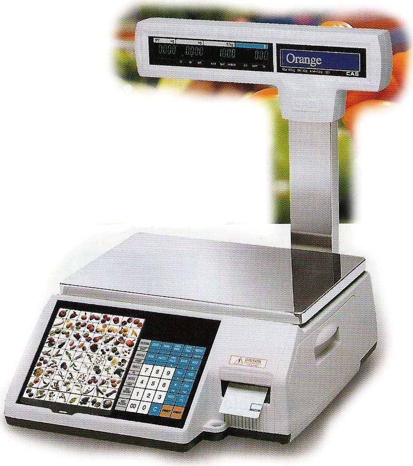CL-5000J Barcode Label Printing Scale